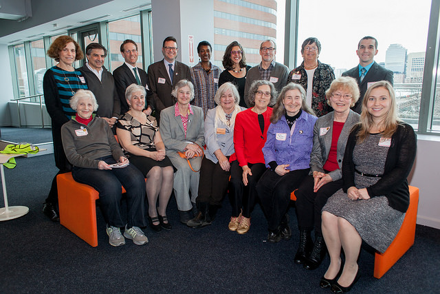 WalkBoston Board photo at Annual Meeting, March 2015