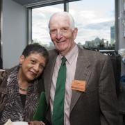 Dr. Beverly Scott and Bob Sloane