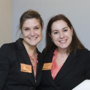 Hillary Borcherding and Jessica Sawyer