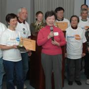 Golden Shoe winners from the Greater Boston Chinese Golden Age Center