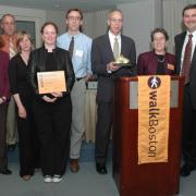 Golden Shoe Award recipients from MEPA Office